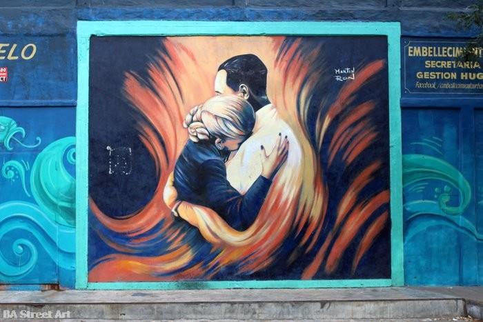eva peron mural abrazo buenos aires martin ron buenosairesstreetart.com
