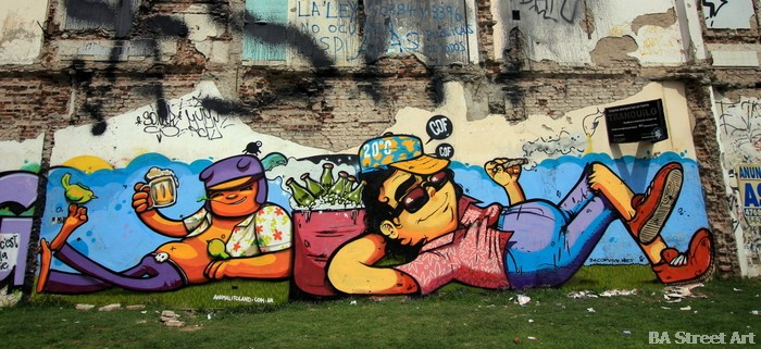 graffiti buenos aires tour villa urquiza cof animalito land buenosairesstreetart.com