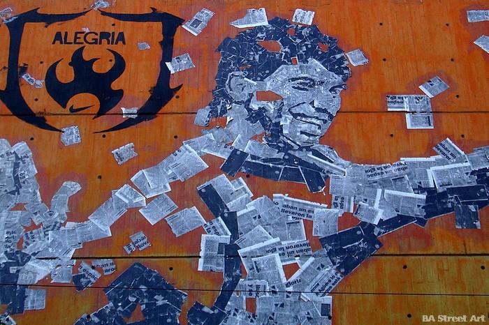 aguero argentina world cup mural street art buenos aires