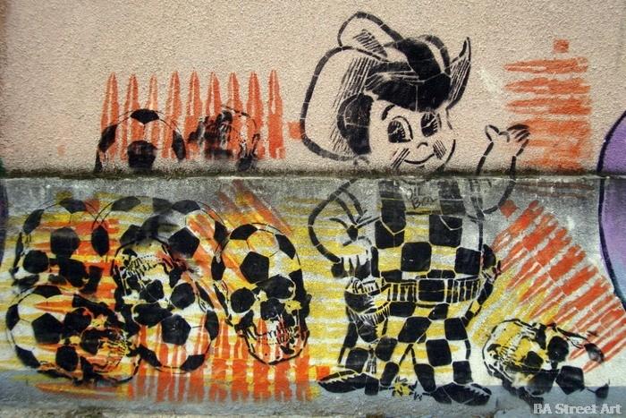 argentina world cup street art mural guachito © buenosairesstreetart.com