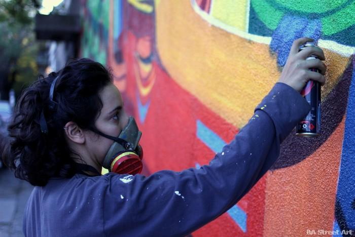 arte urbano buenos aires animalito land cartoon graffiti argentina