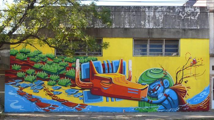 arte urbano buenos aires animalito land mural villa maipu grafiti