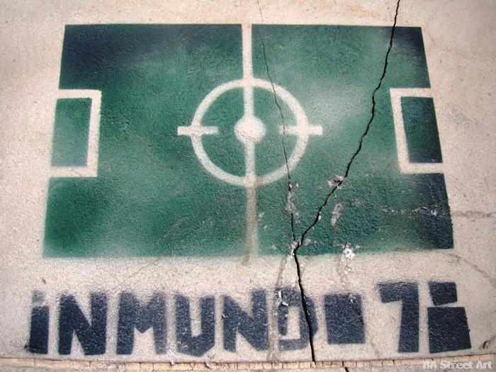 argentina world cup stencil street art buenos aires mundial 1978 buenosairestreetart.com
