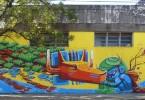 grafiti buenos aires animalito land mural villa maipu arte callejero