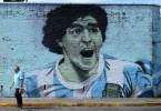 maradona mural argentina mundial world cup buenos aires - Copy