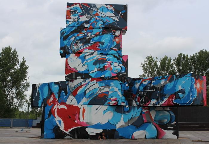 Defo graffiti Belgium writer rock werchter belgica
