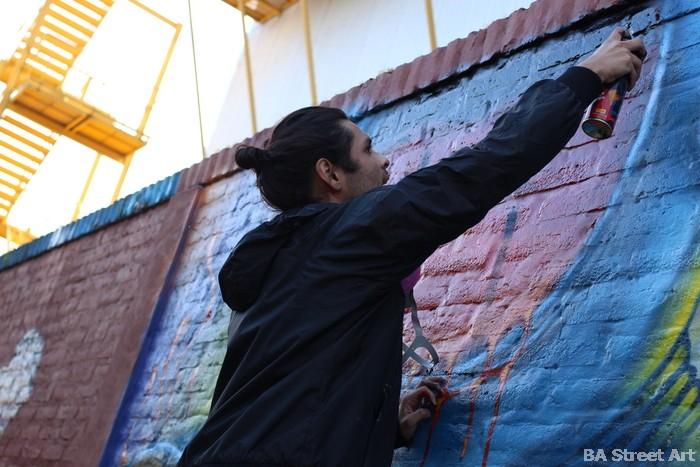 buenos aires graffiti artista callejero