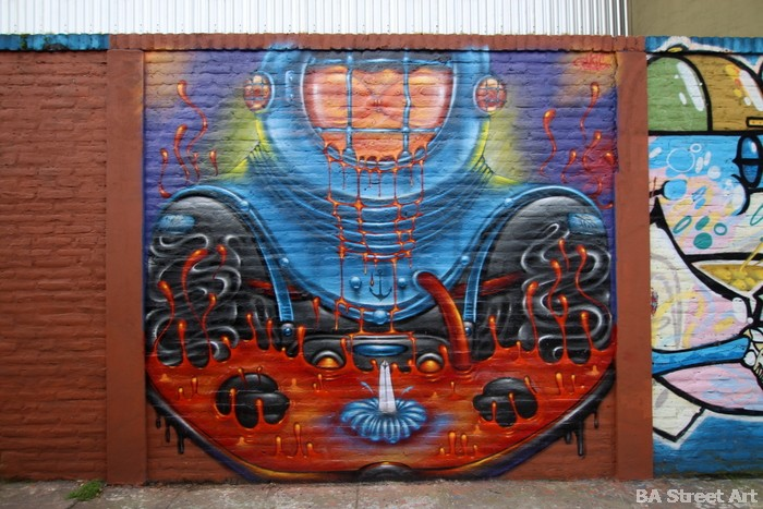 diver street art buenos aires buenosairesstreetart.com