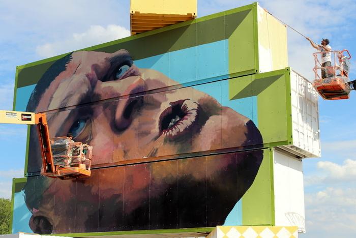 Martin Ron graffiti belgium avo street art belgium
