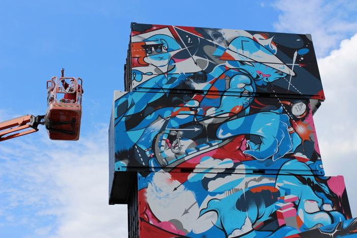 graffiti belgium defo werchter arne quinze