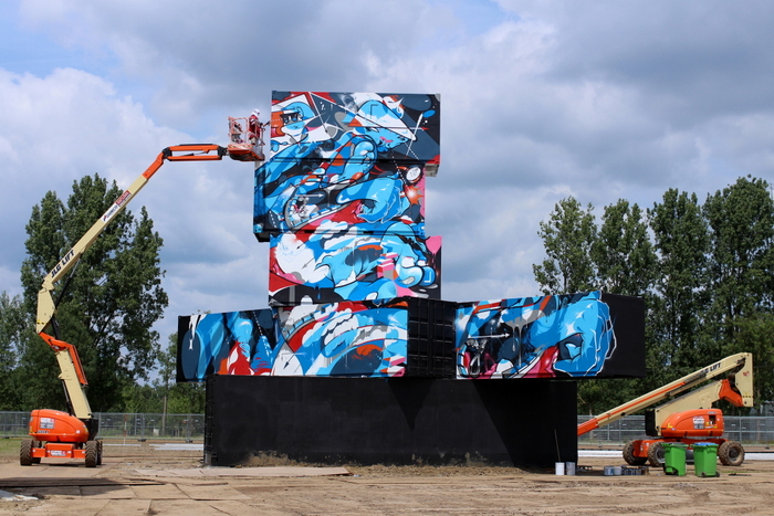 belgium graffiti brussels werchter defo graff street art project