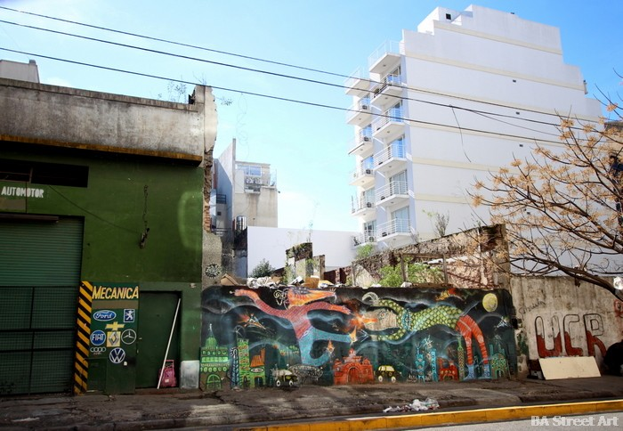grafiti buenos aires argentina