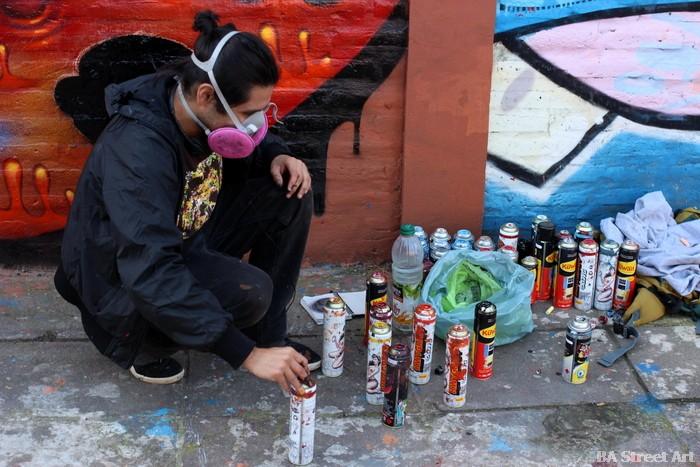 rikis artista chile graffiti