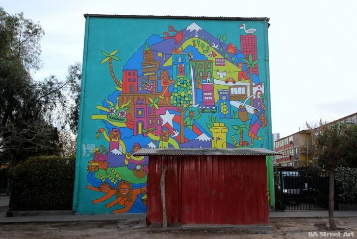 santiago street art chile buenosairesstreetart.com