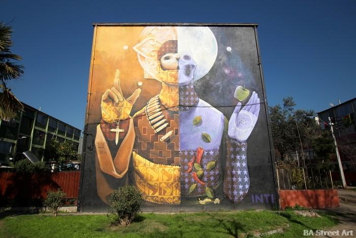 santiago museo de cielo abierto inti mural street art chile buenosairesstreetart.com