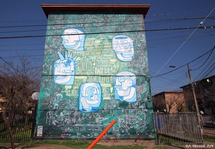 graffiti santiago chile buenosairesstreetart.com