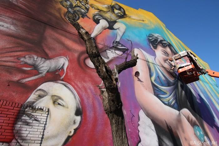 artistas buenos aires murales street art buenosairesstreetart.com