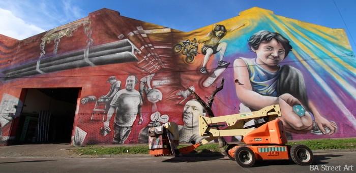 big mural buenos aires street art arte callejero