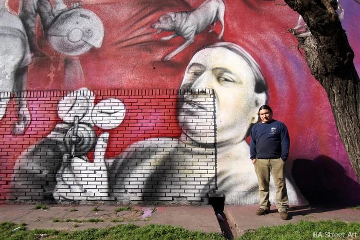 mural buenos aires huge pelado artist buenosairesstreetart.com