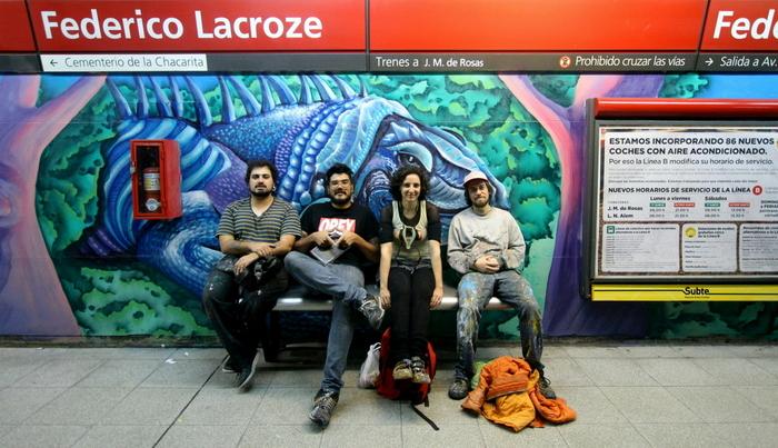 street artists buenos aires estacion federico lacroze buenosairesstreetart.com