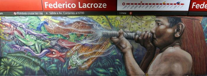 graffiti subte buenos aires buenosairesstreetart.com federico lacroze estacion