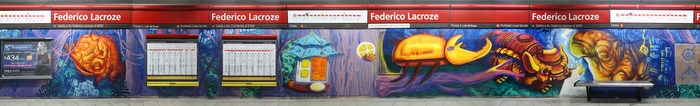 metro station murals buenos aires federico lacroze buenosairesstreetart.com