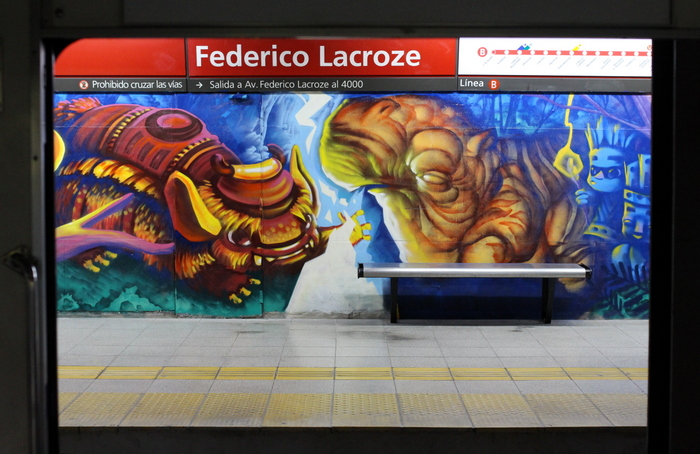 federico lacroze estacion anden chacarita rosas buenos aires buenosairesstreetart.com