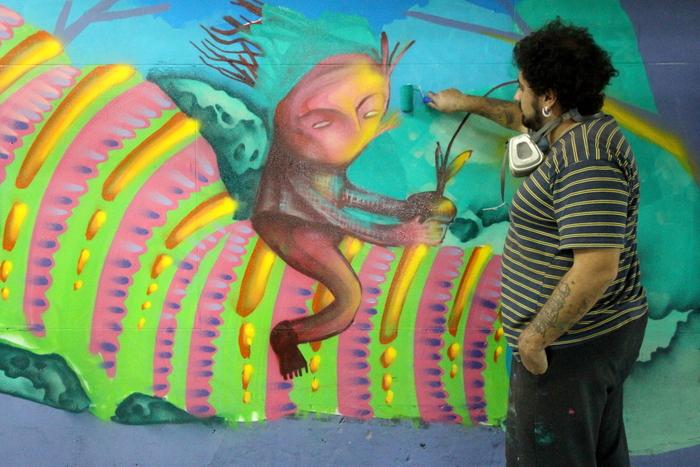 federico lacroze street art murales buenos aires buenosairesstreetart.com