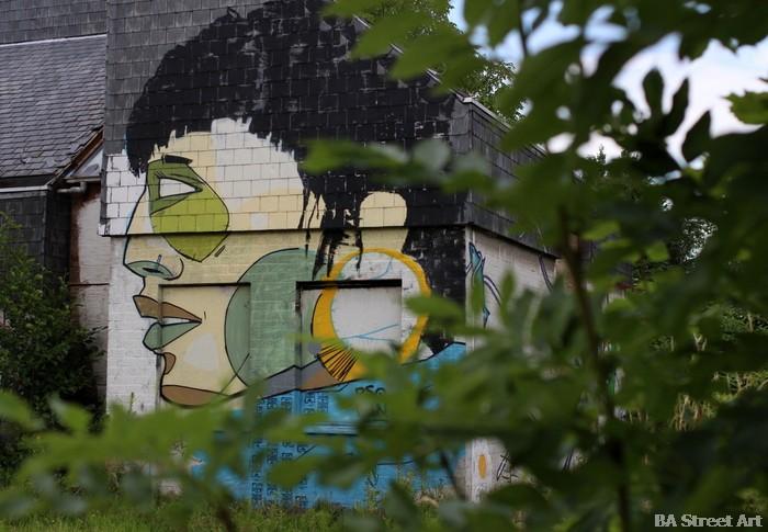 graffiti street art belgium doel pueblo abandonado buenosairesstreetart.com