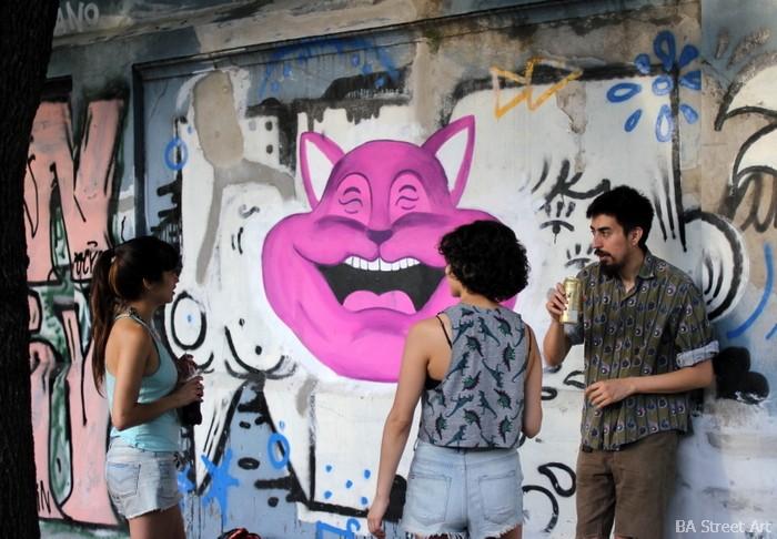 arte urbano buenos aires hospital pirovano coghlan street art open house pinta bien buenosairesstreetart.com