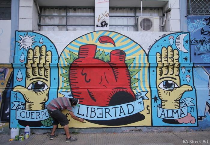 hospital pirovano murales arte callejero juan del prado artista buenos aires buenosairesstreetart.com