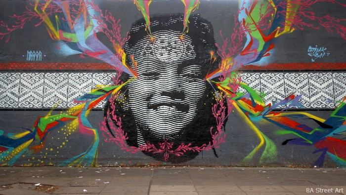 buenos aires graffiti argentina stinkfish nazza stencil mural urban art buenosairesstreetart.com