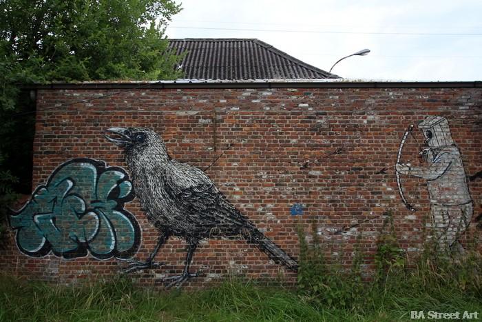 doel street art roa belgium