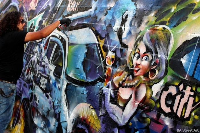 graffiti artist buenos aires dame buenosairesstreetart.com