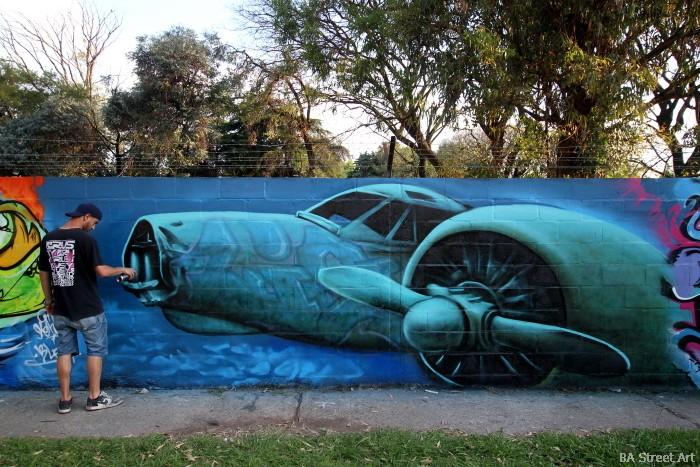 graffiti artista buenos aires evento san martin graff