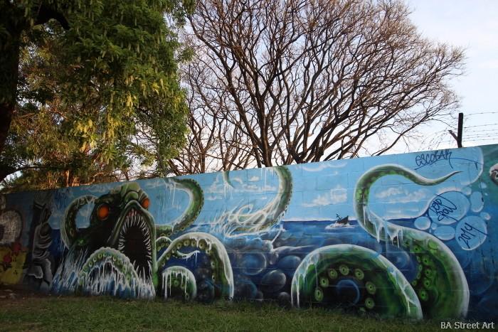 sea monster street art buenos aires argentina arte callejero