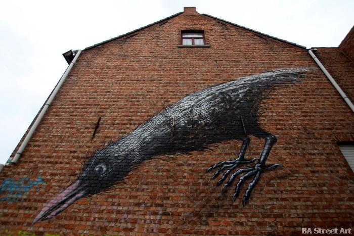 roa belgium doel graffiti animals buenosairesstreetart.com