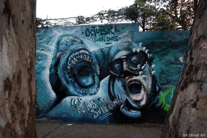 shark street art argentina buenos aires buenosairesstreetart.com