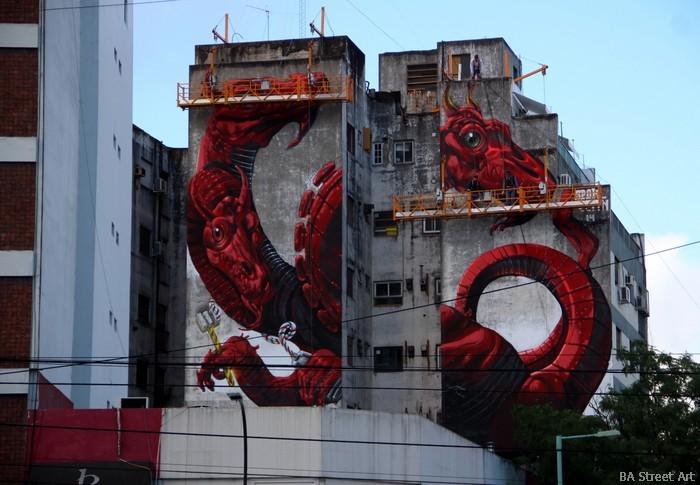 lean frizzera street art mural buenos aires hydra buenosairesstreetart.com
