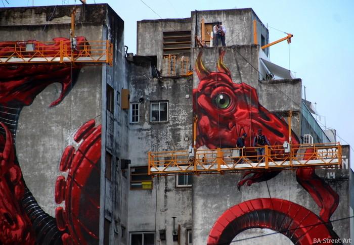spok lean frizzera mural buenos aires street art graffiti buenosairesstreetart.com tour arte urbano