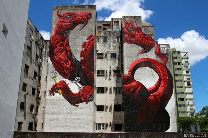 BA Street Art Imural spok buenos aires lean frizzera hydra street art graffiti argentina buenosairesstreetart.com
