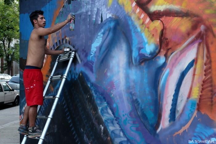nomada street artist bogota colombia buenosairesstreetart.com