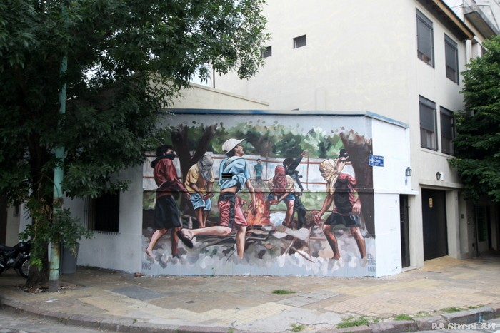 palermo stret art buenos aires el marian artist buenosairestreetart.com