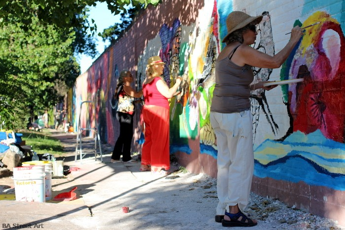art tour buenos aires moron festival artista plastica juan torra llardona