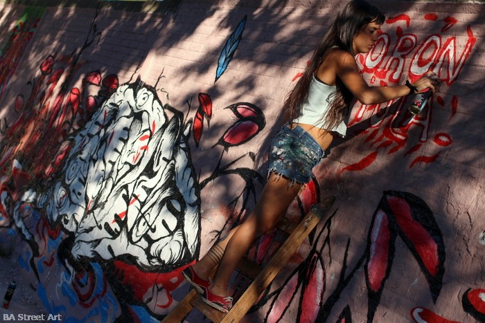 fio silva buenos aires street art buenosairesstreetart.com artista