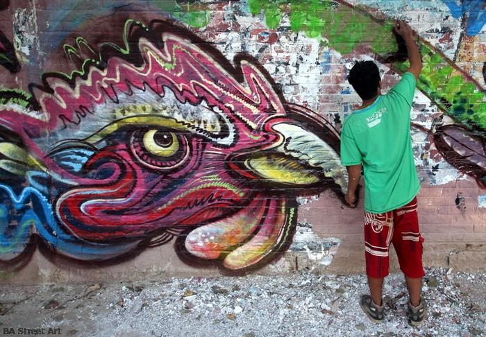 graffiti buenos aires moron street art festival gallo buenosairesstreetart.com