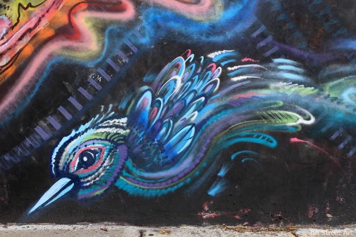 bird mural street art buenos aires arte callejero buenosairesstreetart.com