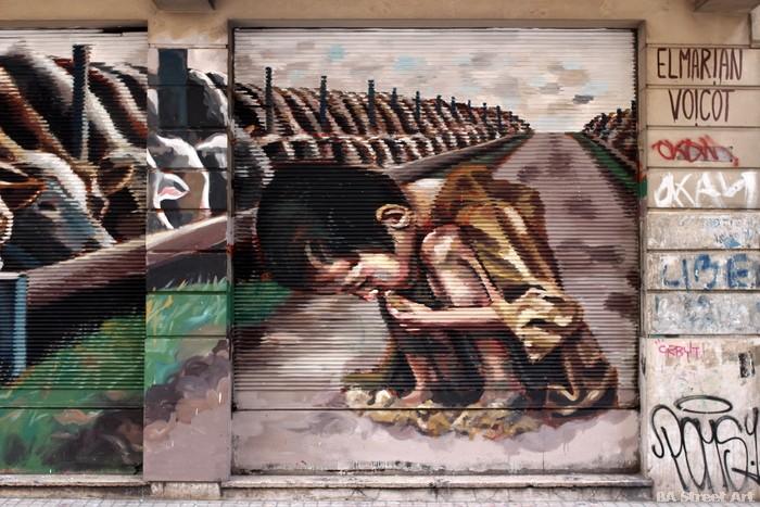 arte urbano san telmo buenos aires