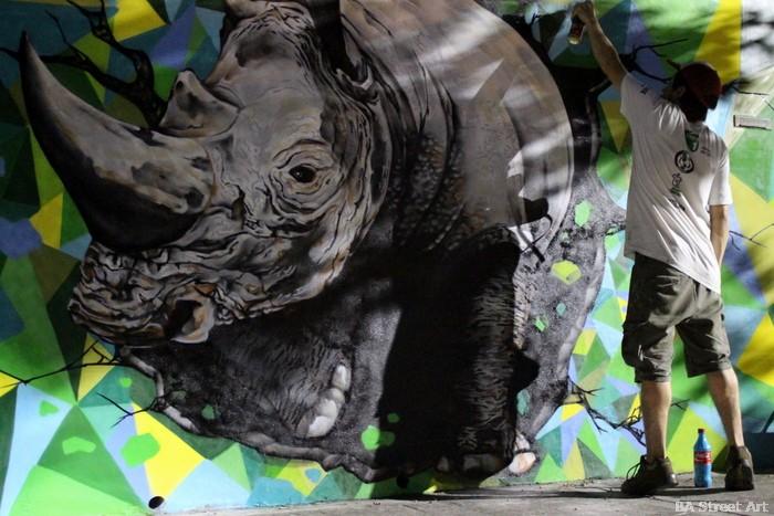 coghlan distrito de arte mural organizado por BA Street Art ice rhino buenosairestreetart.com