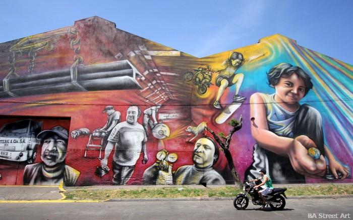 argentina street art buenos aires fabrica mural arte urbano graffiti buenosairesstreetart.com